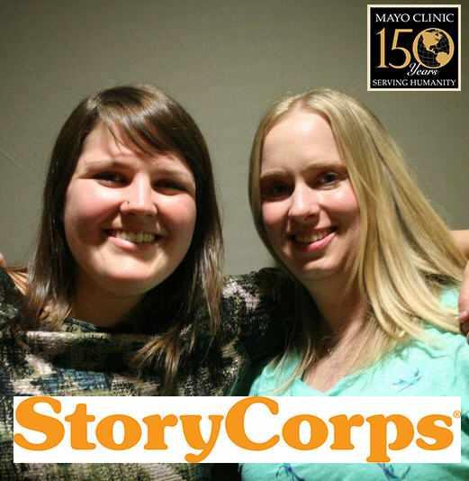 Tara with StoryCorps producer Christina
