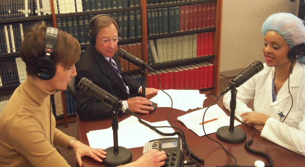 Mayo Clinic Radio with Dr. Tom Shives and Tracy McCray interviewing Dr. Reid-Lombardo