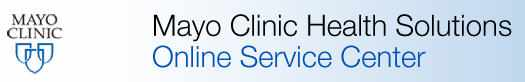 Mayo Clinic Health Solutions banner