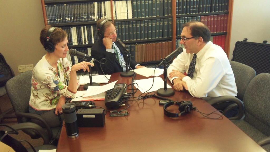 Dr. Brooks Edwards talking on Mayo Clinic Radio