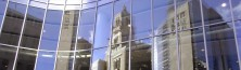 Reflection of Plummer Building