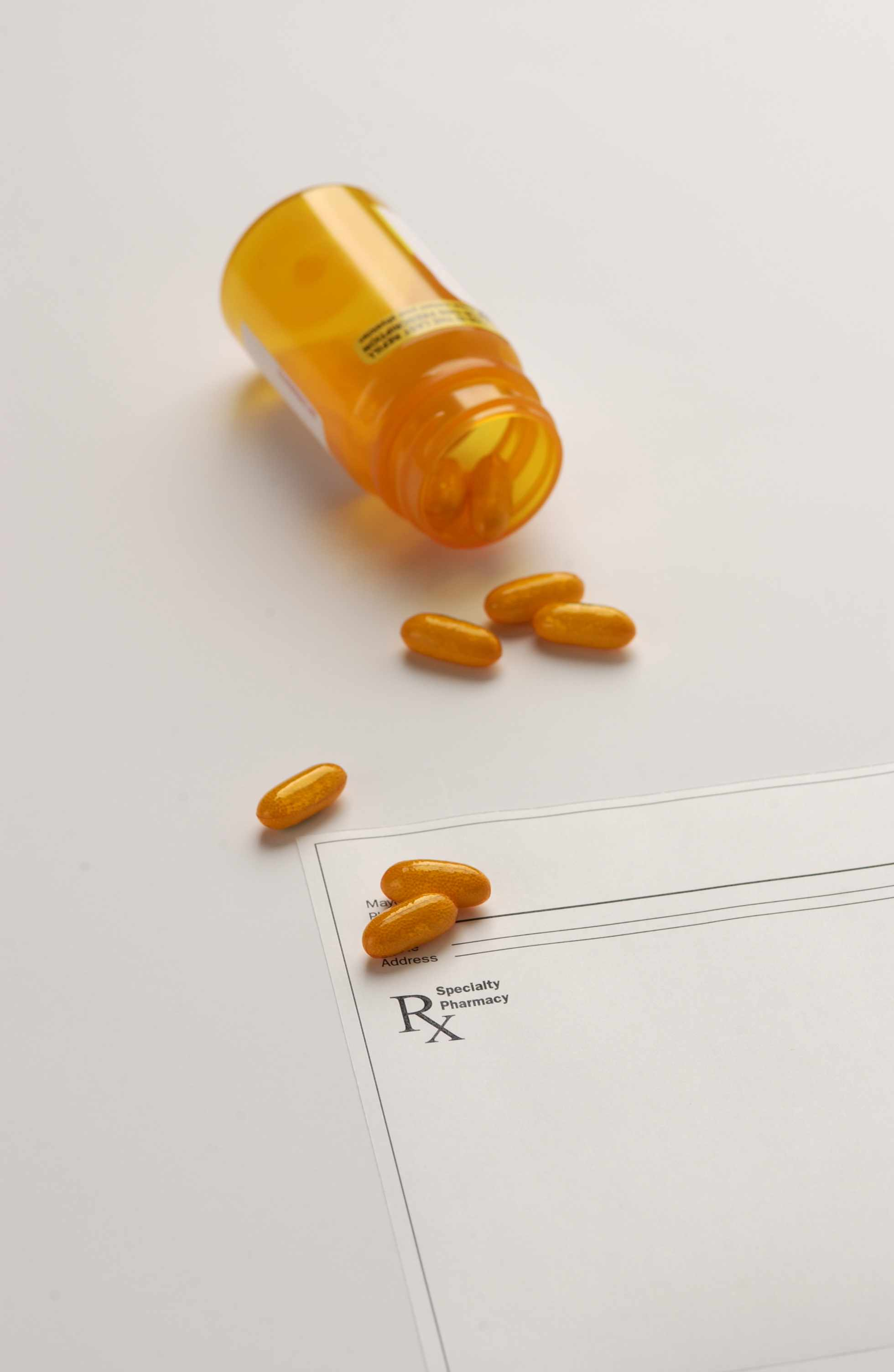 Photo of medication and prescription form. Source: Mayo Clinic.