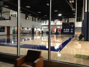 Mayo Clinic Square, Sports Medicine, basketball court