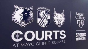 Mayo Clinic Square Courts logo