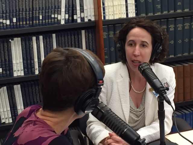 Dr. Dawn Davis interviewing on Mayo Clinic Radio