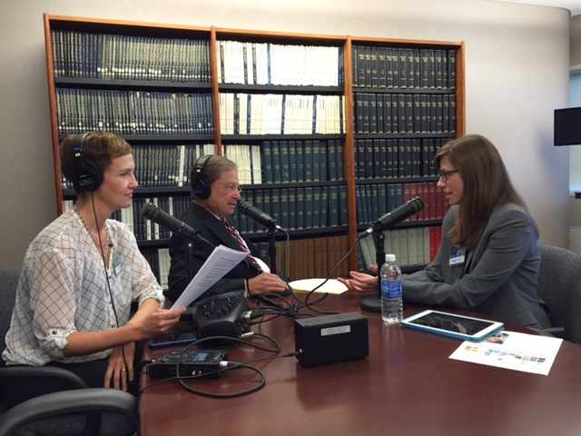 Dr. Jordan Rullo being interviewed on Mayo Clinic Radio