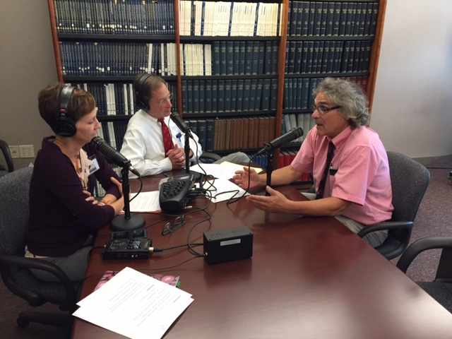 Dr. Thom Rooke being interviewed on Mayo Clinic Radio