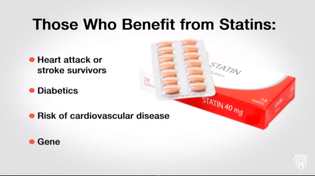 Statins graphic screen shot