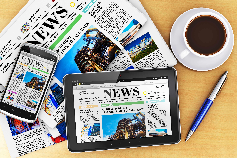 news headlines, media