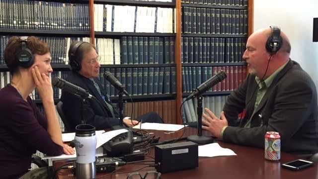 Dr. David Nestler being interviewed on Mayo Clinic Radio show