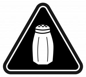 salt warning icon