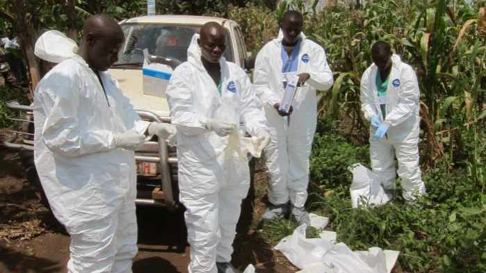 CDC photo of Ugandan Red Cross workers