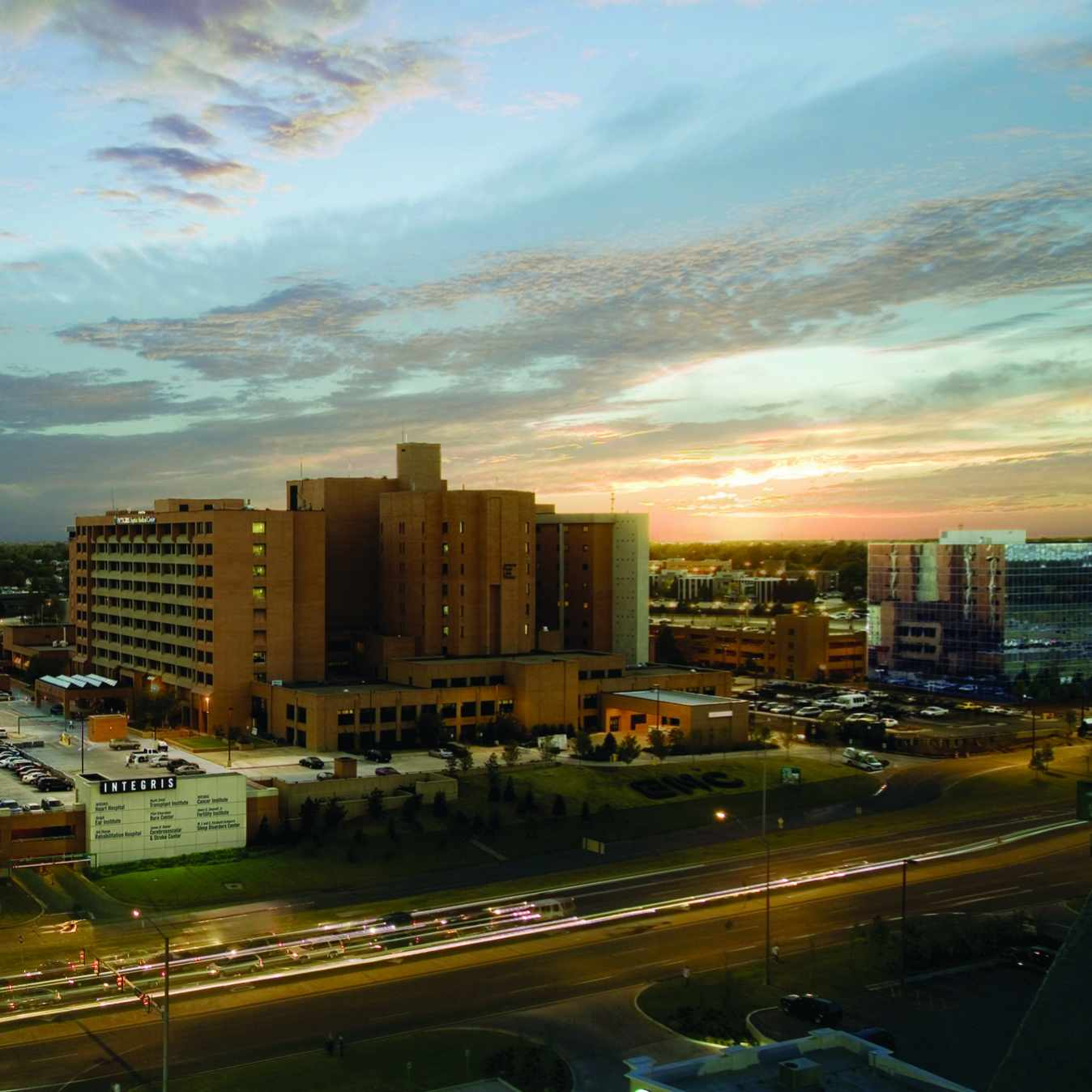 Beauty Shot of the INTEGRIS Baptist Medical Center