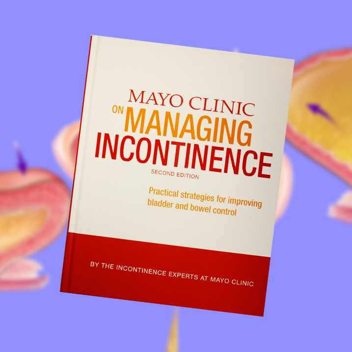book jacket of Mayo Clinc on Managing Incontinence