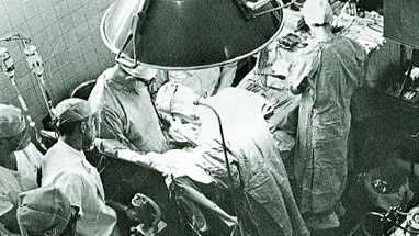 1965 open heart surgery at Mayo Clinic