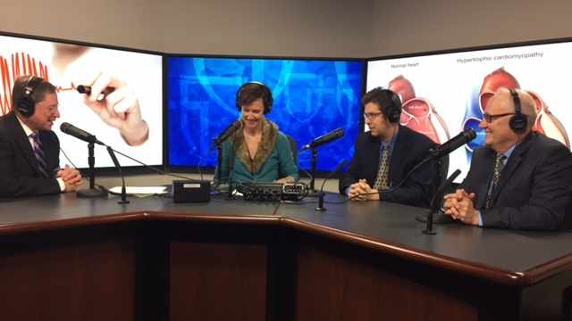 Dr. Jeffrey Geske and Ron Petrovich being interviewed on Mayo Clinic Radio