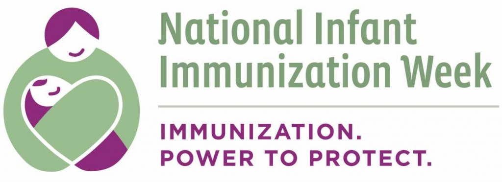 National Infant Immunizations Week logo