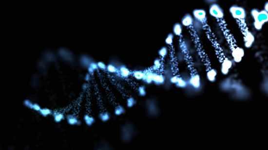Sinopsis del ADN, molécula futurista, ilustración celular