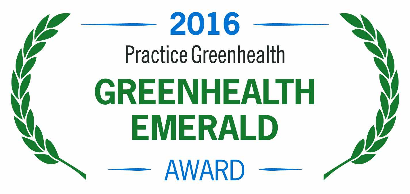 2016 Practice Greenhealth Emerald Award