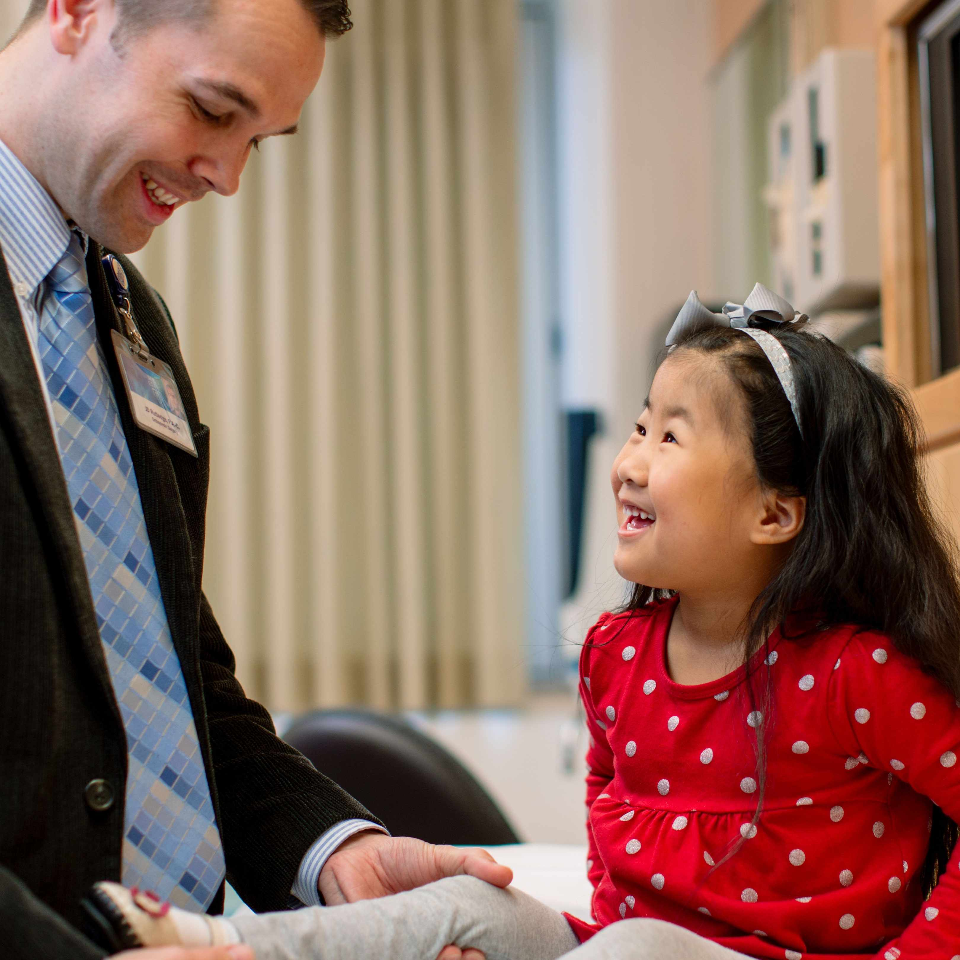 Pediatric Patient with Doctor