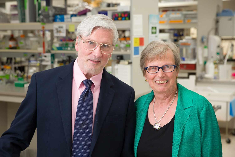 Dr. Peter Cohen (left) and Dr. Sandra Gendler (right)