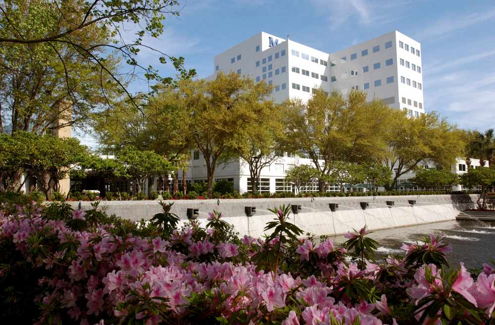 Scenic view of Mayo Clinic Florida campus