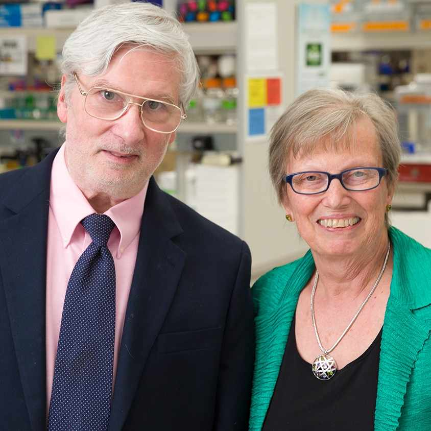 Dr. Peter Cohen (left) and Dr. Sandra Gendler (right)