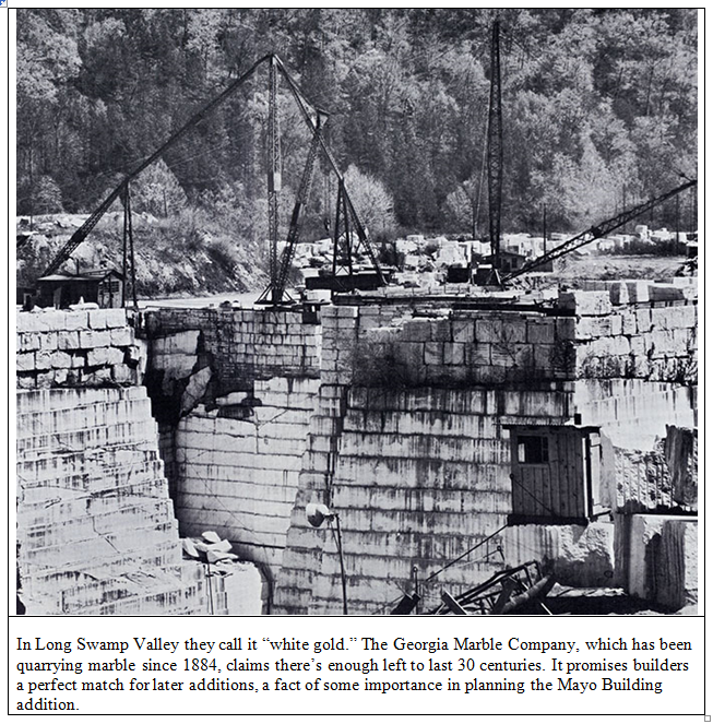 the Georgia Marble Company quarry