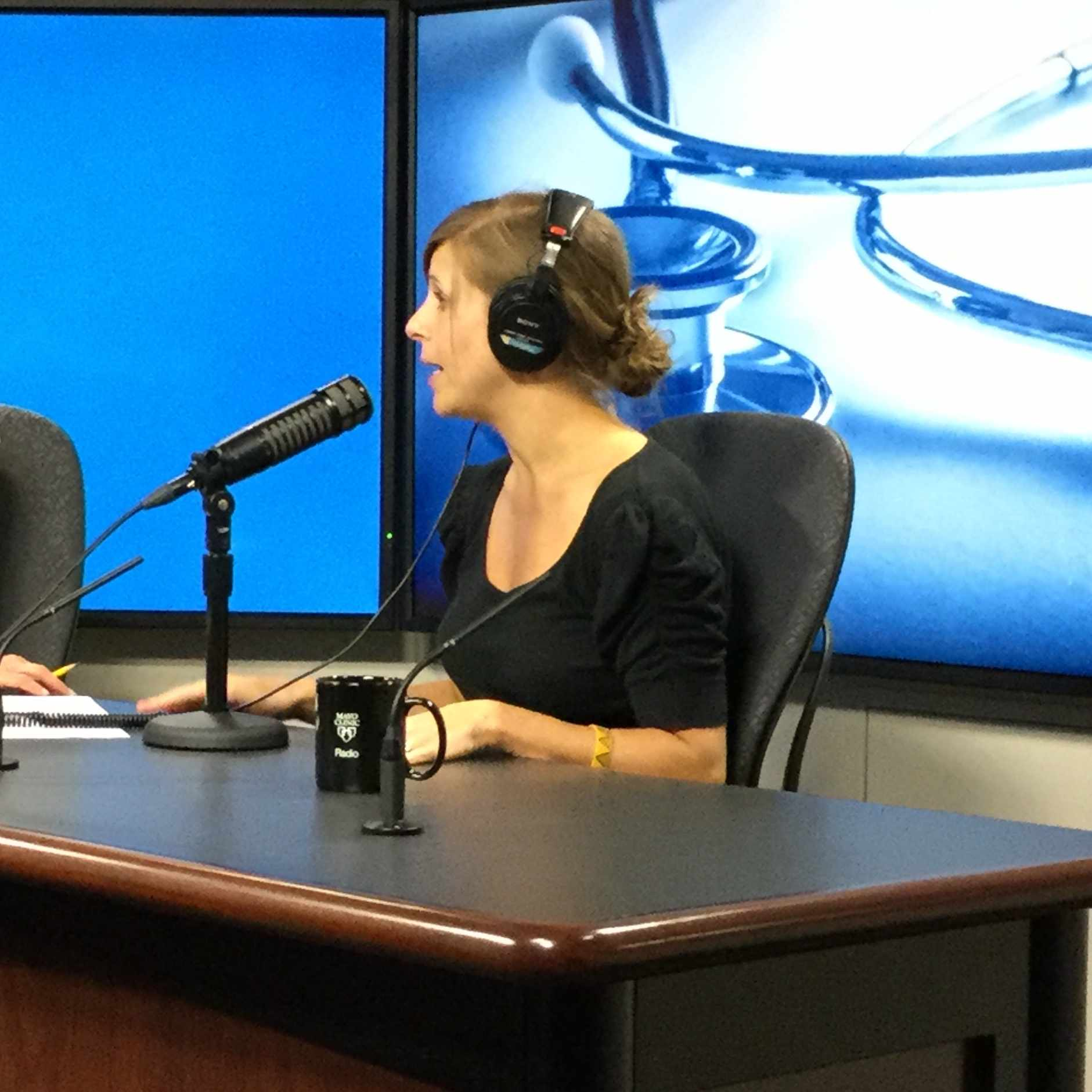 Dr. Jocelyn Lebow on Mayo Clinic Radio