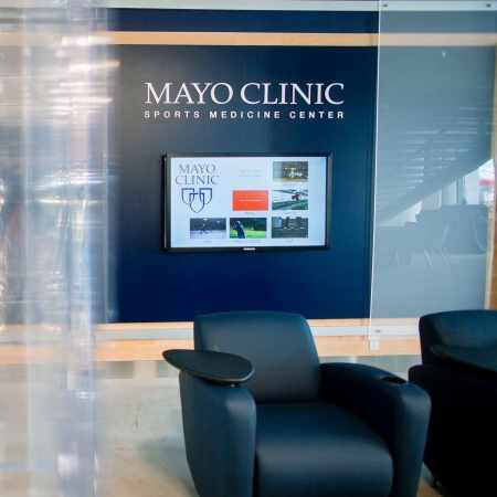 Mayo Clinic Square Sports Medicine lobby