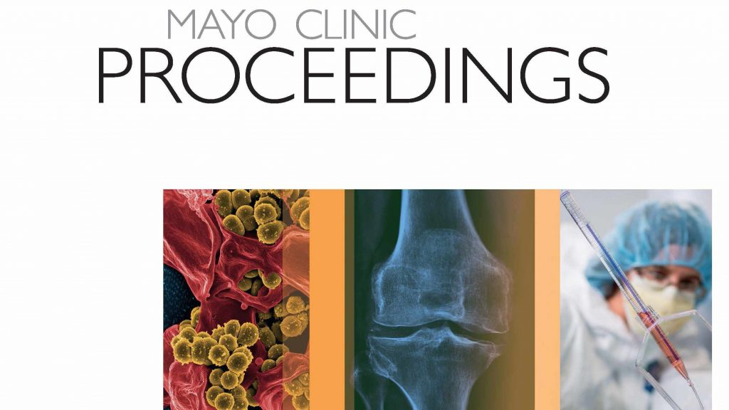 Mayo Clinic Proceedings cover