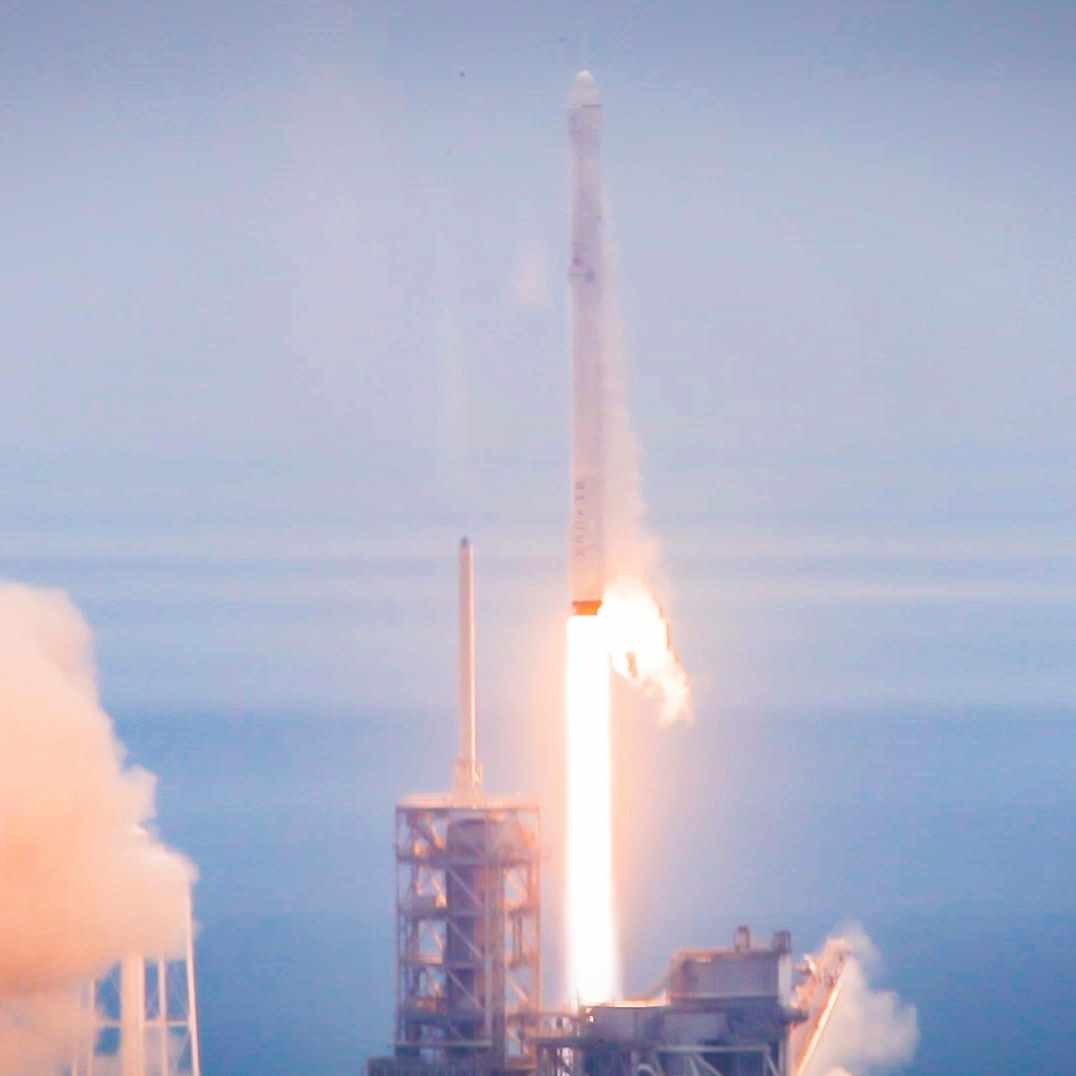 SpaceX CRS-10 mission blast off from NASA's Kennedy Space Center with Dr. Zubair's stem cell research