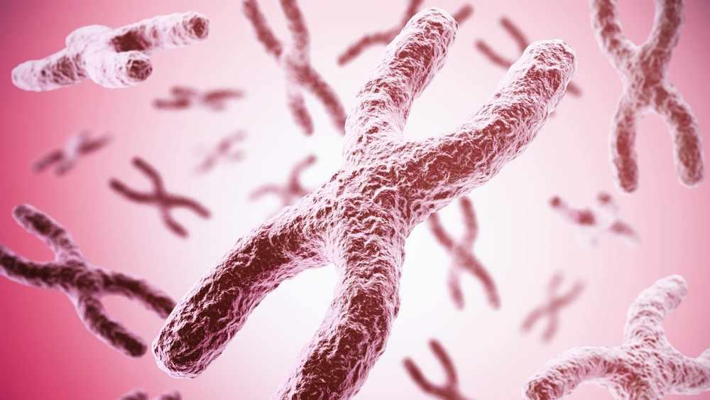 Ilustración digital de la estructura del ADN