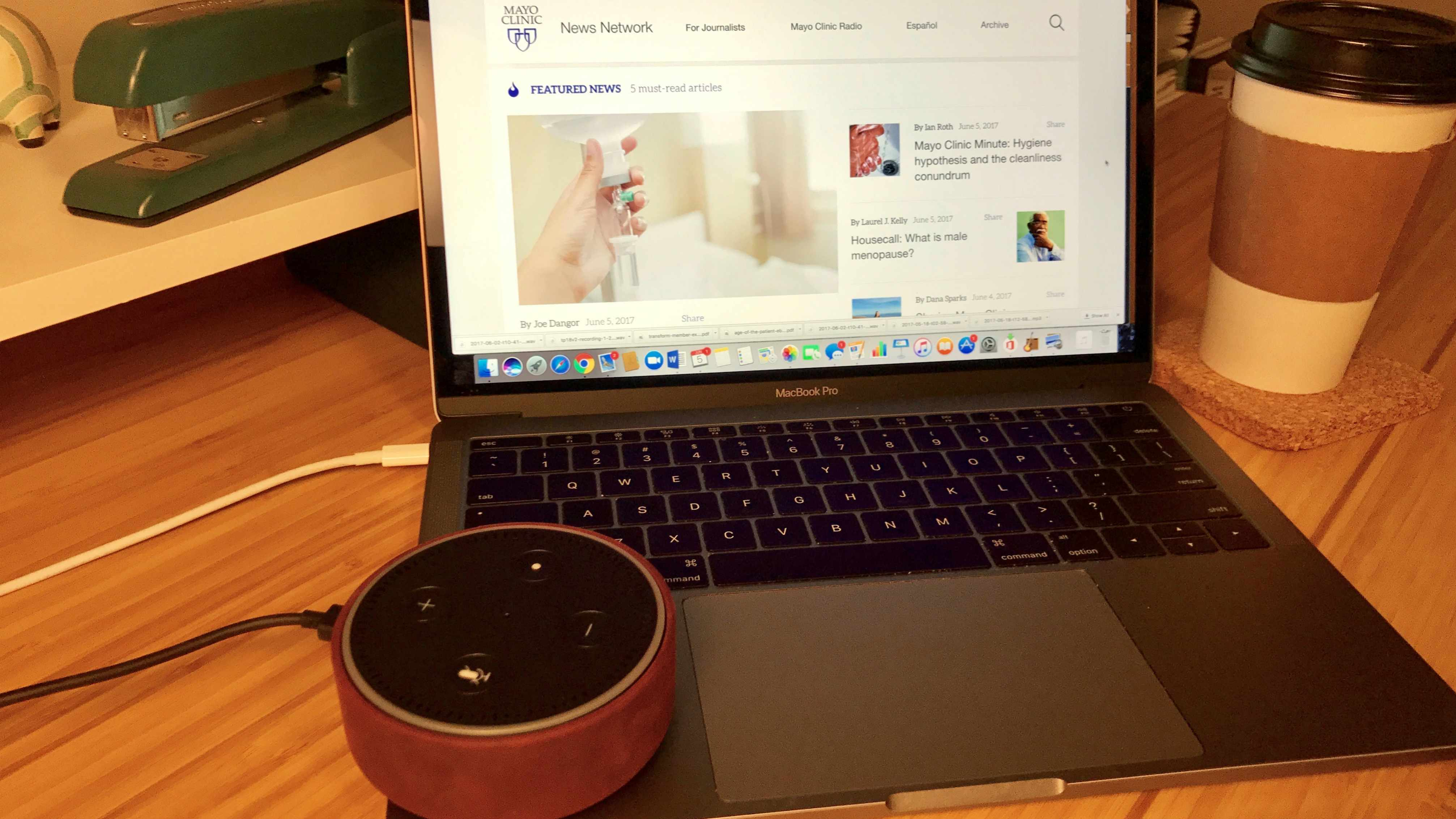 Alexa now delivers Mayo Clinic news via Amazon Echo – Mayo