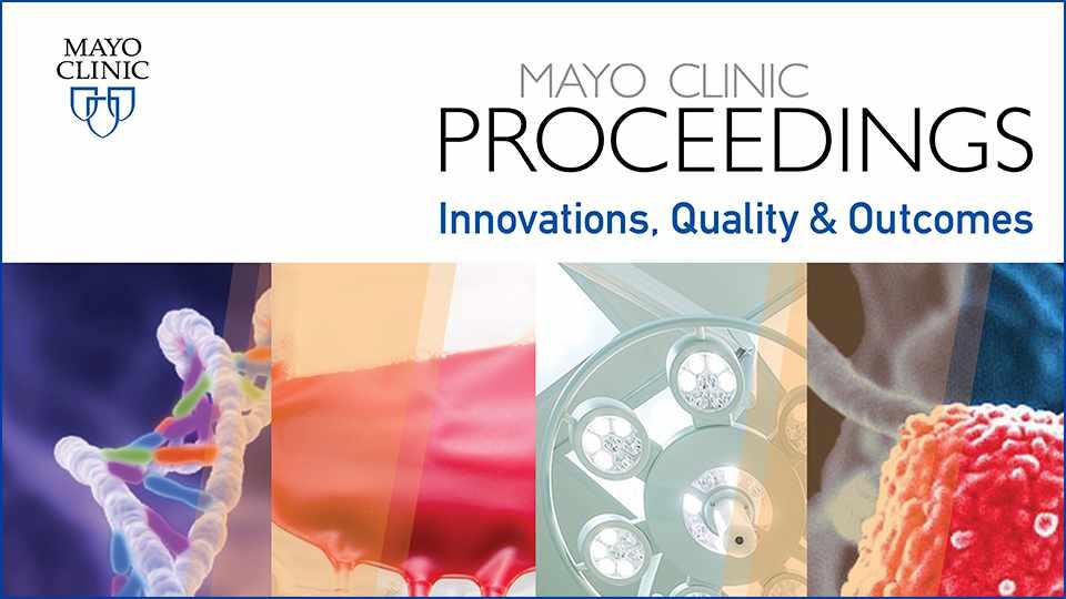 Картинки по запросу journal Mayo Clinic Proceedings