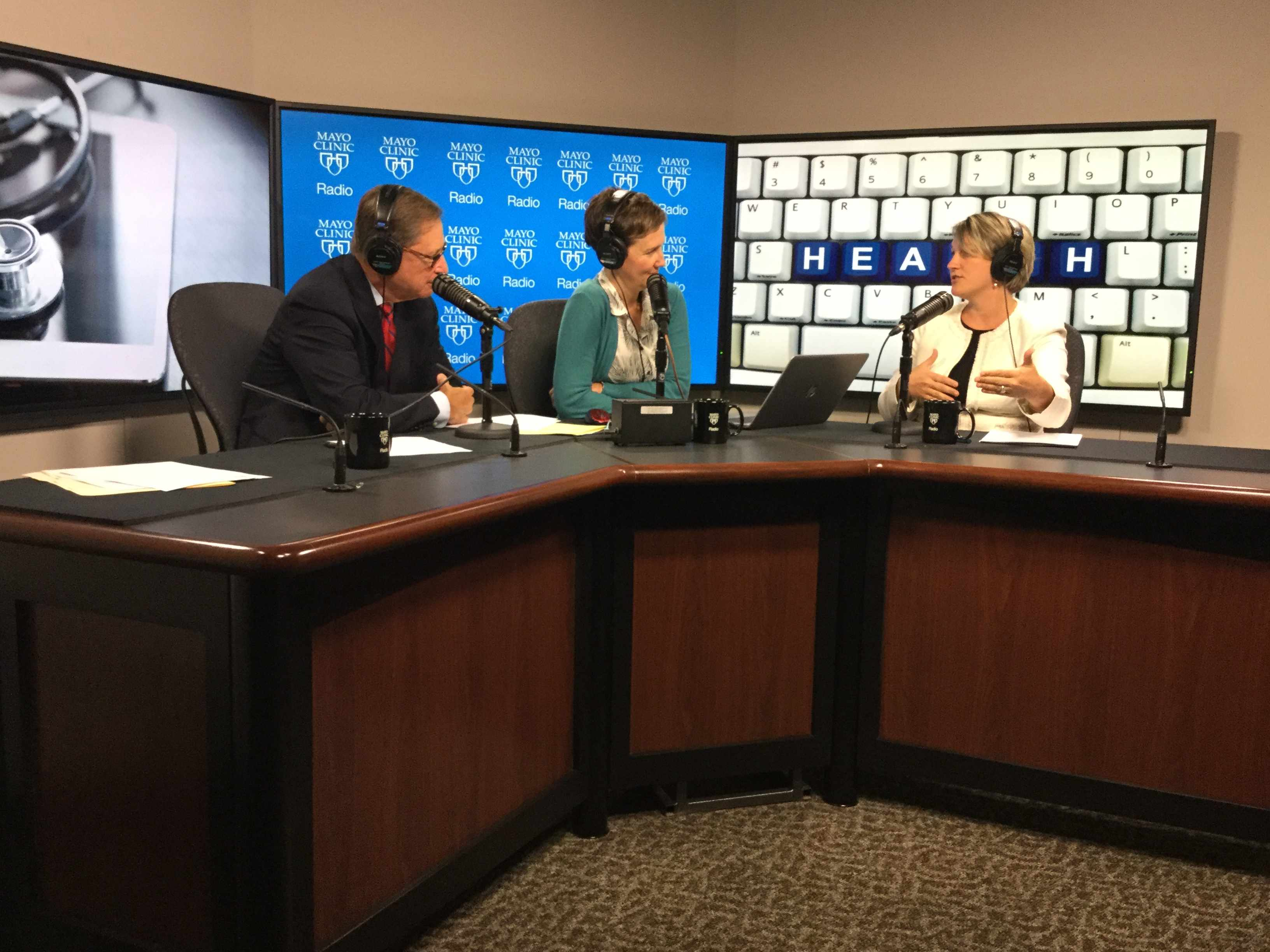 Dr. Tufia Haddad on Mayo Clinic Radio