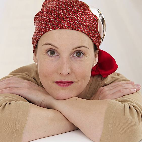 portrait of woman recovering after chemotherapy
