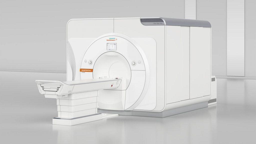Escáner de 7 teslas para resonancias magnéticas