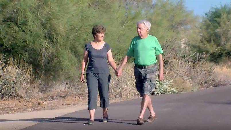 Arizona couple, Vincent and Sandra Streech, fighting cancer together