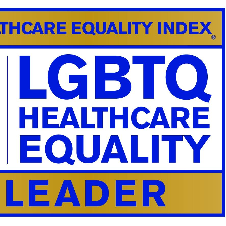 Healthcare Equality Index 2018 Leader logo
