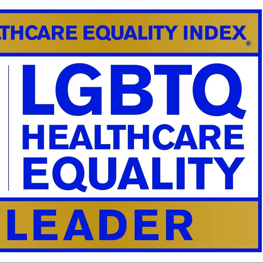 Healthcare Equality Index 2018 Leader logo