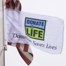 donate life flag