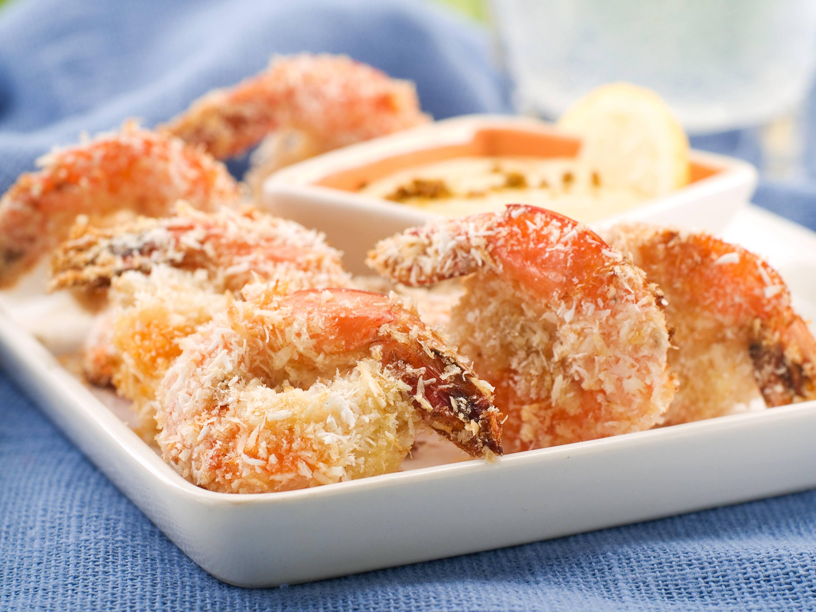 Making Mayo's Recipes: Baking coconut shrimp
