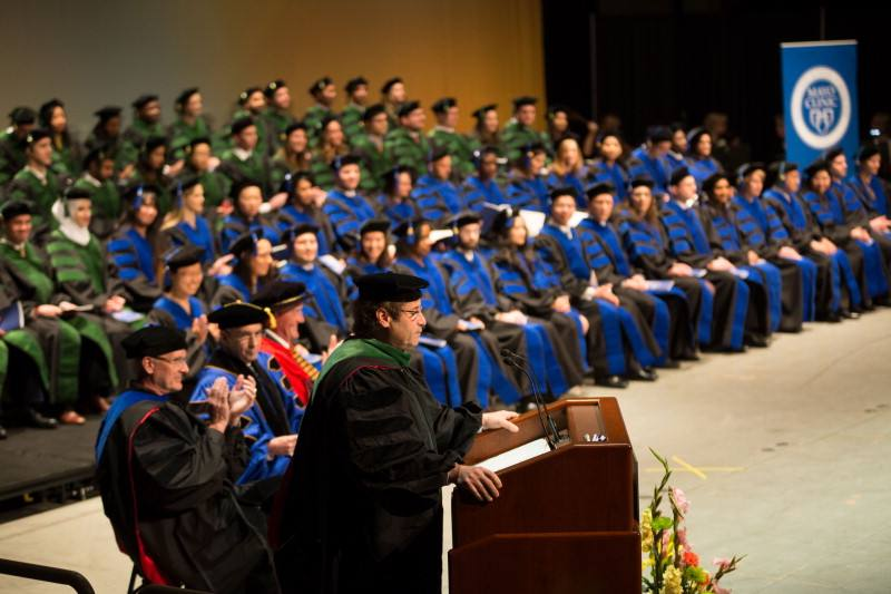 Mayo Clinic School of Medicine and Mayo Clinic Graduate School of Biomedical Sciences commencement