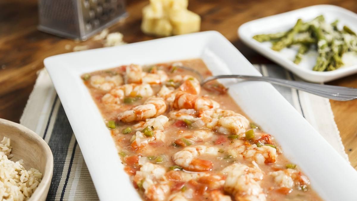 Making Mayo's Recipes: Spicy Creole shrimp dish