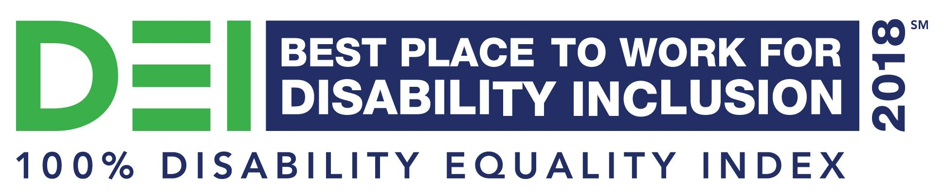 Best Place to Work for Disability Inclusion logo