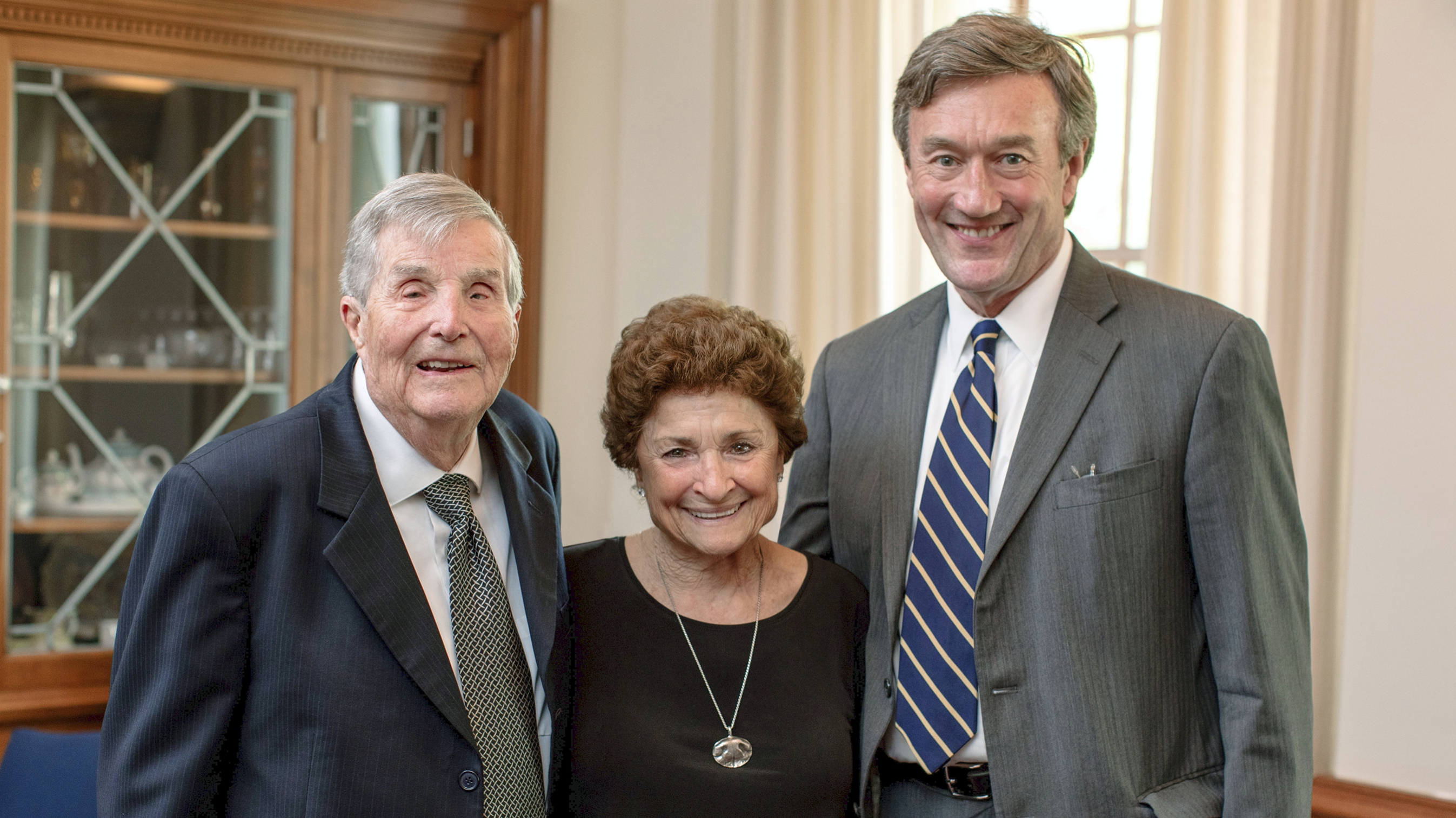 Marilyn and Warren Bateman with Dr. Noseworthy