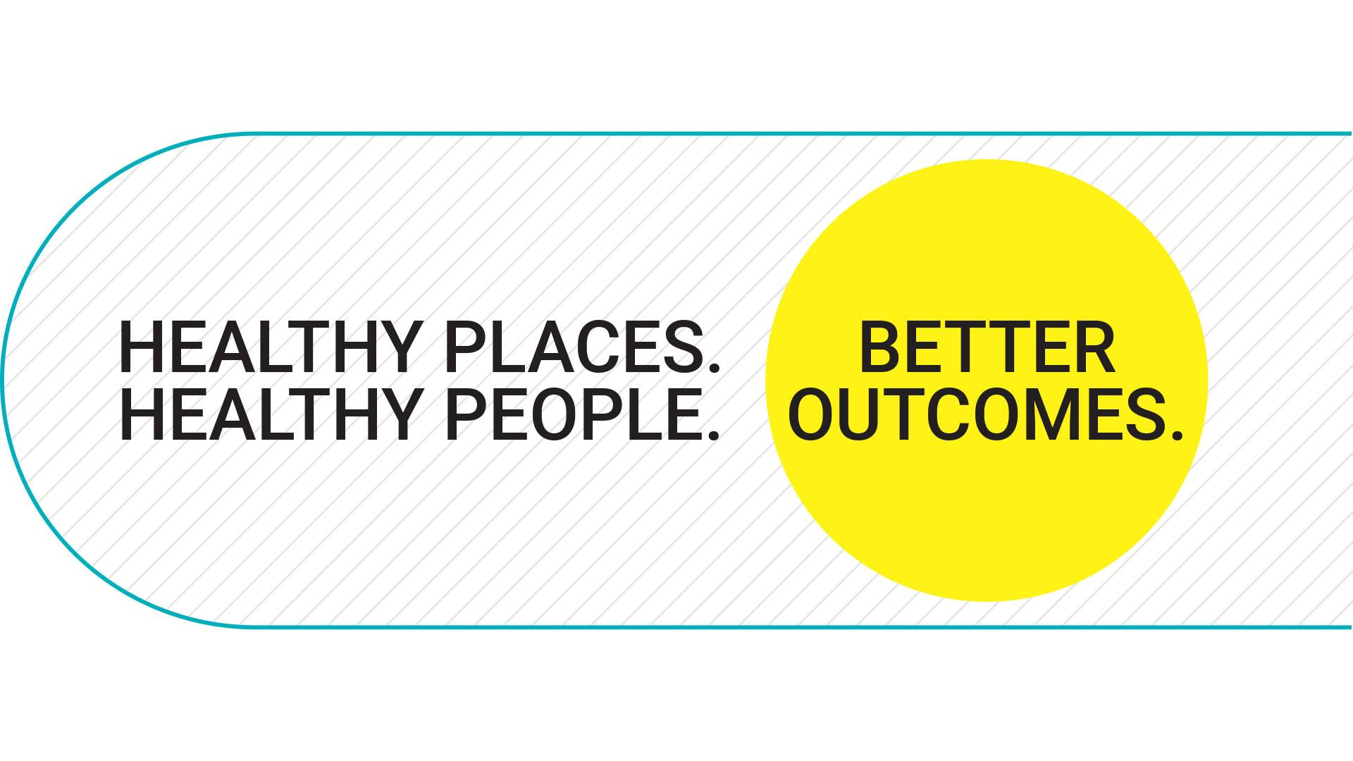Well Living Lab logo: Healthy places. Healthy people. Better outcomes.