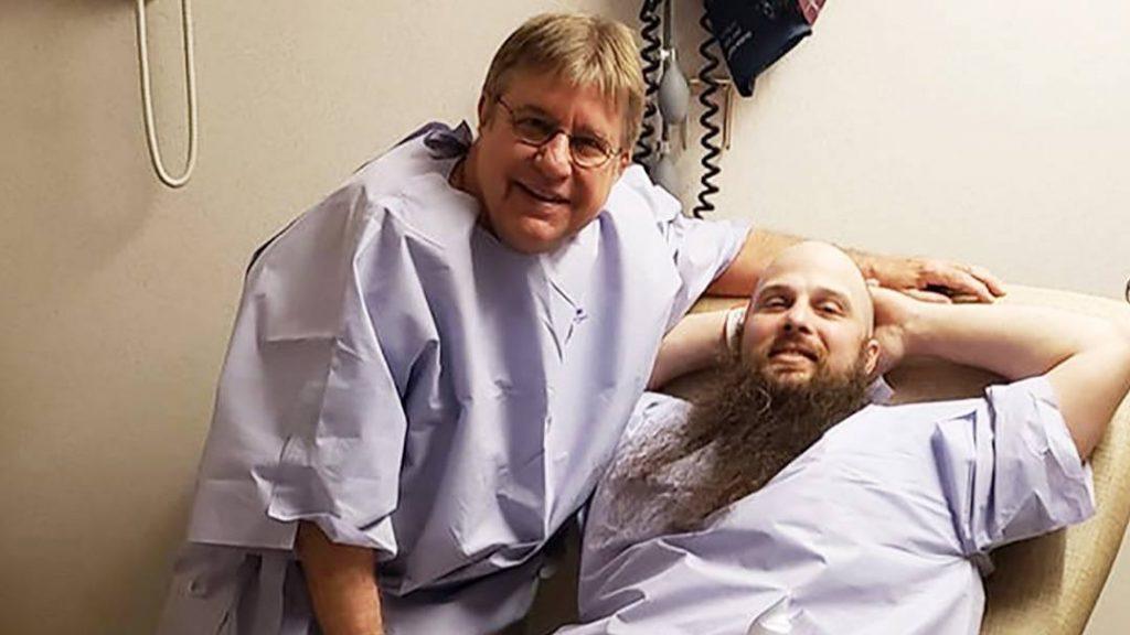 In the Loop patients Robert and Ricky Sanden