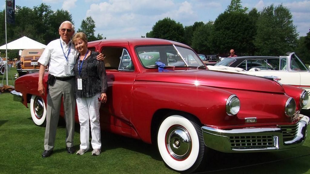 In the Loop patient John Schuler and his 1948 Tucker sedan